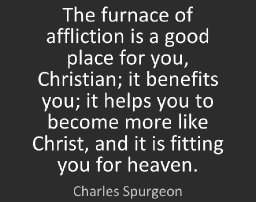 Tough Love - In the Furnace of Affliction