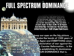 The Pope's Globalism is Against God!