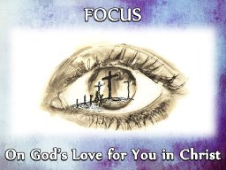 """""""WHERE'S YOUR FOCUS"""" BY ANDREW WOMMACK"""