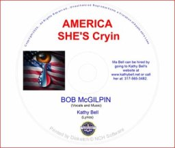 Kathy Bell and Bob McGilpin - 'America She's Crying'