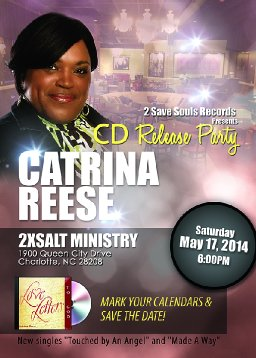 Catrina Reese s Cd Release Party