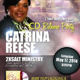 """Catrina Reese's CD Release Party- """"Love Letters to God"""""""
