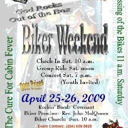 God Rocks Out of the Box Biker Weekend