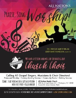 ☆Attention to All Gospel Singers!!!☆