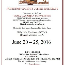 CGMA CANADIAN CONVENTION