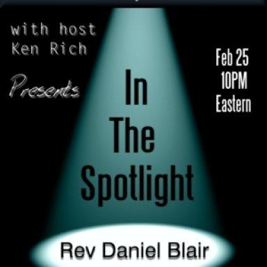 In the Spotlight - Rev Daniel Blair
