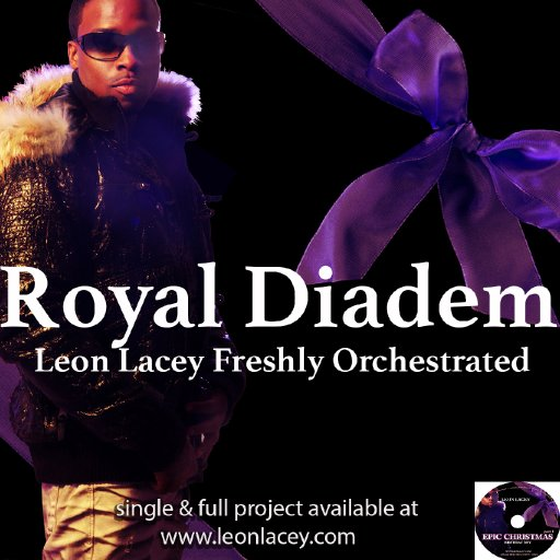 Leon Lacey & Freshly Orchestrated Royal Diadem CD Cover