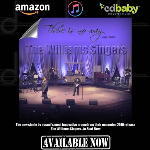 The Williams Singers There Is No Way CD Cover