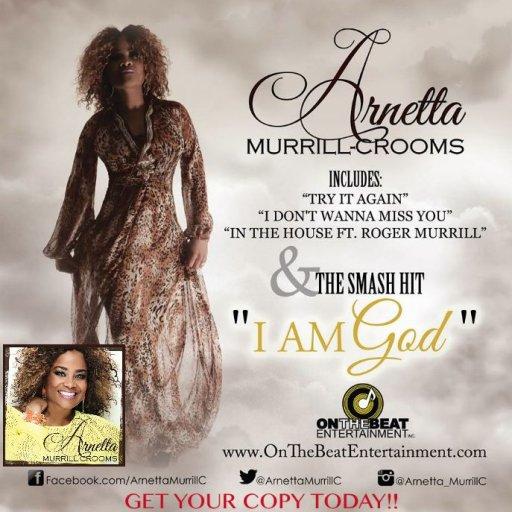 Arnetta Murrill-Crooms CD Cover