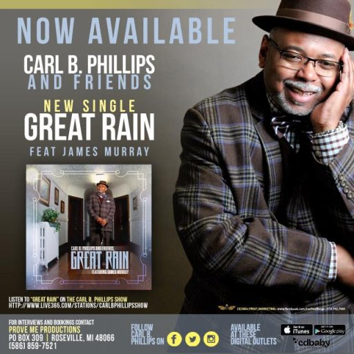Carl B Phillips & Friends CD Cover
