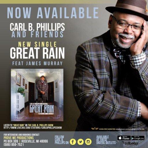 Carl B Phillips & Friends CD Cover