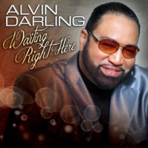 Alvin Darling Waiting Right Here CD Cover