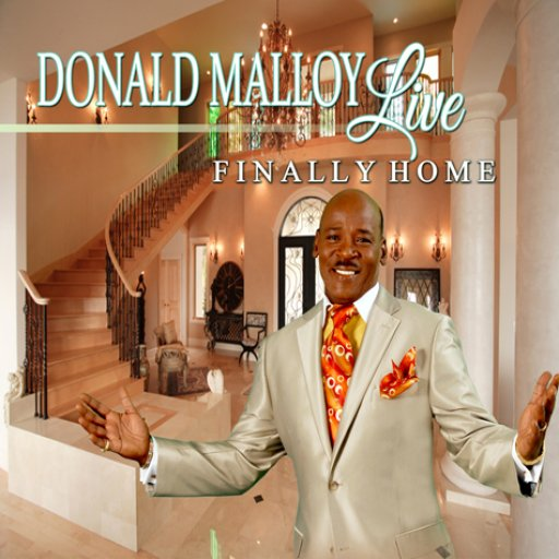 Donald Malloy Live Finally Home CD Cover