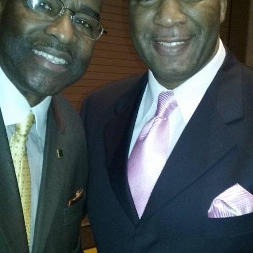 Bishop Sam Williams and Daulton Anderson