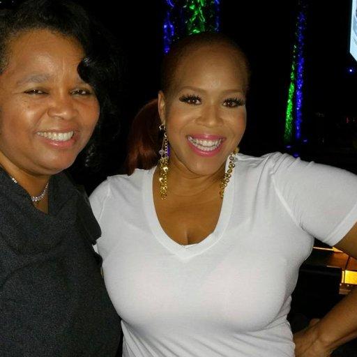 Tina Campbell and Sheilah Belle