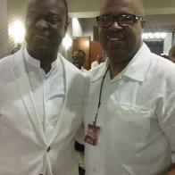 Kevin Monroe (& Devotion )& Program Director Cedric Bailey(Musical Rejoice Soul Food Radio Network.jpg