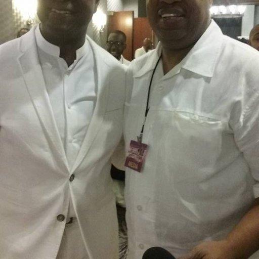 Kevin Monroe (& Devotion )& Program Director Cedric Bailey(Musical Rejoice Soul Food Radio Network