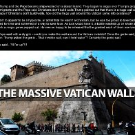 The Pope's Wall