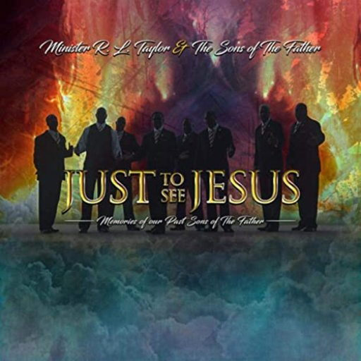FRONT COVER OF JUST TO SEE JESUS