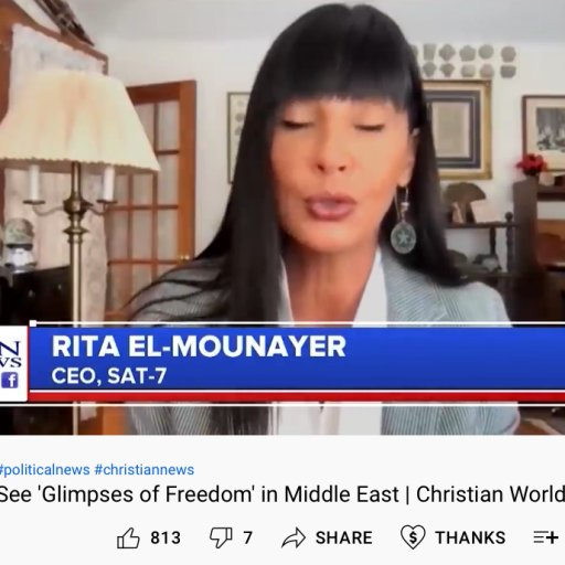 Christians See 'Glimpses of Freedom