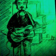 caricature of me playing at the Edge 9-1-12.jpg