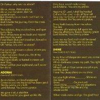 Clay CD With Lyrics