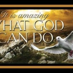It is Amazing what God can do!