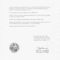FLORIDA CERTIFICATE OF STATUS DOCUMENT