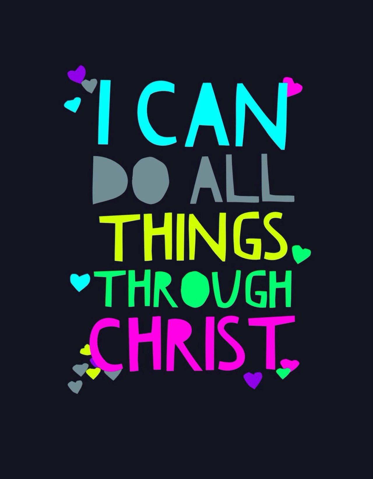 Philippians 4 13 I Can Do All Things Through Christ Which Strengtheneth Me Bible Lock Screens Christian Iphone Wallpaper Android Background