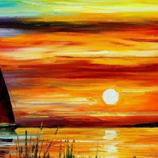 florida-leonid-afremov-sunset-sea-yacht-art-paint-other-315x851