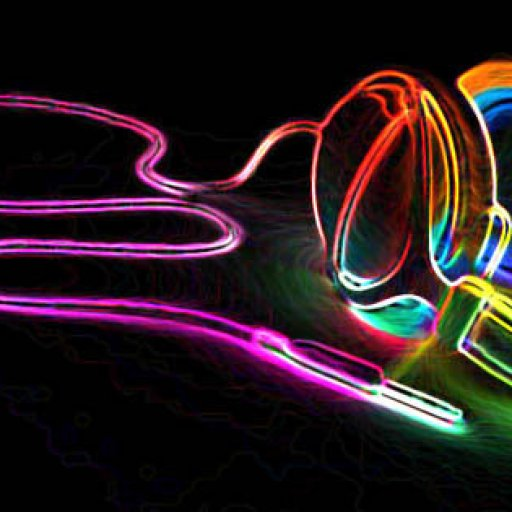 random-headphones-multi-color-rainbow-neon-psychedelic-black-music-facebook-banner-cover-timeline--picture-photo-for-fb