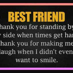 Best friend thank you for standing Quotes.jpeg