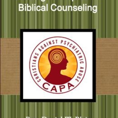 Guiding Principles for Biblical Counseling
