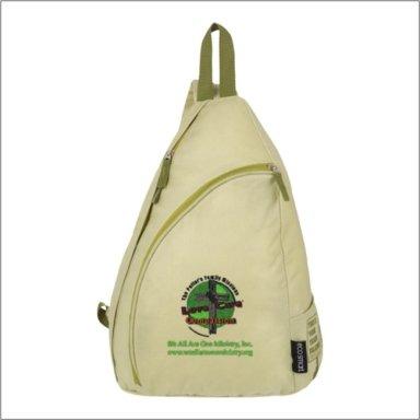 Unisex Embroidered Back Pack Bag