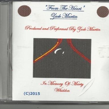 CD - From The Heart - Zack Martin
