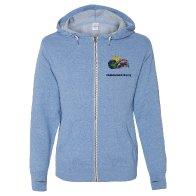 products: Embroidered Hooded Sweat Jacket
