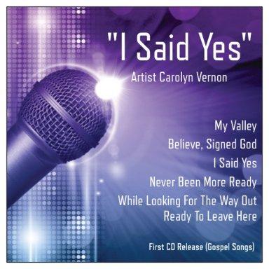 I Said Yes CD