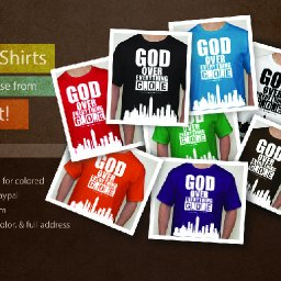 God Over Everything Merchandise