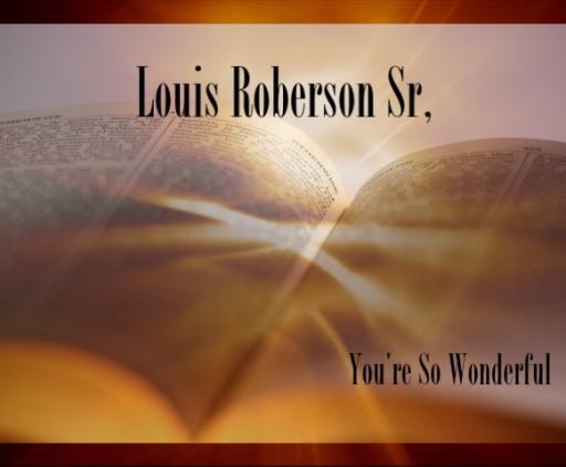 Louis Roberson Sr.