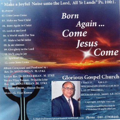 Born again in Christ