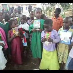ORPHANS SINGING & APPRECIATING THE GIFTS FROM THORA LYNN CHAPMAN