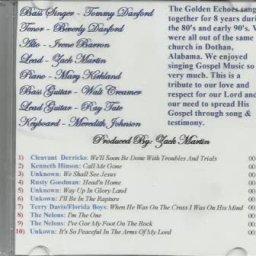Head'n Home - The Golden Echoes Quartet