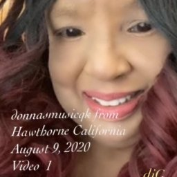 donnasmusicqk from Hawthorne California Video 1- deejaniccaG.