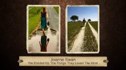 Joanne Swan - We Divided Up The Things They Loved The Most