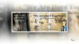 Jan Harbuck - We Are Here Together